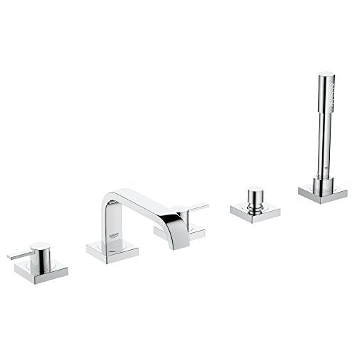 Allure Roman Tub Filler With Personal Hand Shower