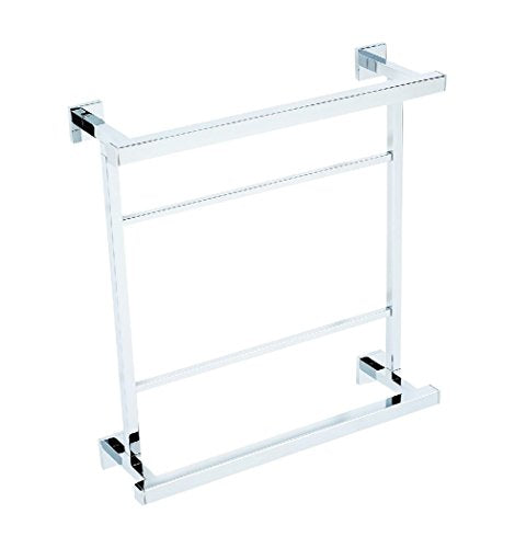 Alno A8428-18-PC Contemporary II Modern Towel Racks, Polished Chrome