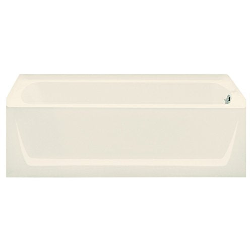 STERLING 71121120-96 Ensemble Bathtub, 60-Inch x 32-Inch x 18-Inch, Right-Hand, Biscuit