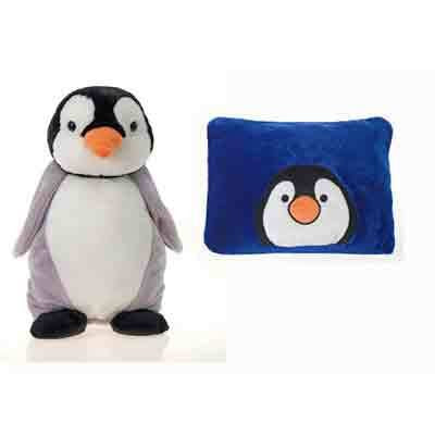 "18"" Penguin Peek-A-Boo Pillow [12 Pieces] - Product Description - 18"" Penguin Peek-A-Boo Pillow. Peek-A-Boo Plush Is A Pillow That Unzips And Becomes A Stuffed Animal. Unzip Again, And The Animal Becomes A Pillow. Soft Fabrics. Huggable Bodies. ..."