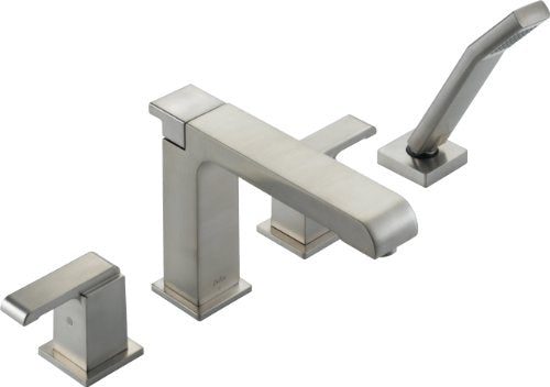 Delta Faucet T4786-SS Arzo, Roman Tub with Handshower Trim, Stainless