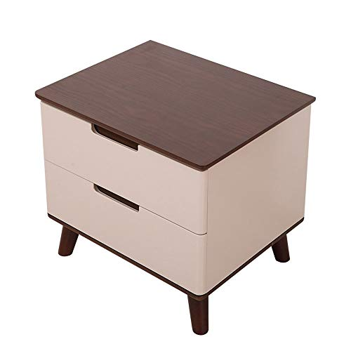 NBCMNJ Bedside Table Simple Modern Bedroom Small Apartment Bedside Small Cabinet Fashion Locker Saves Space