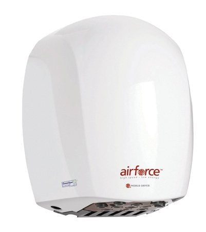 Airforce Hi-Speed Hand Dryer Voltage: 110-120 V, Finish: Steel White