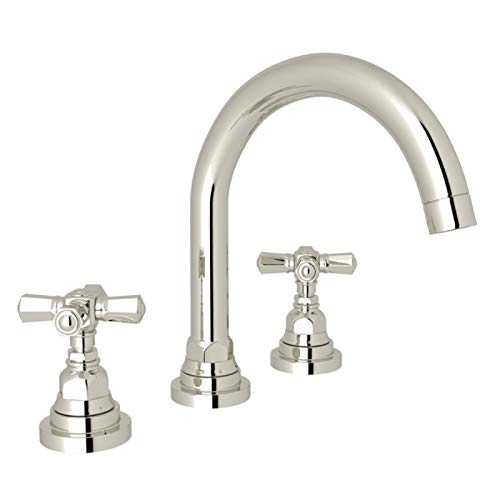ROHL A2328XMPN-2 LAVATORY FAUCETS, Polished Nickel