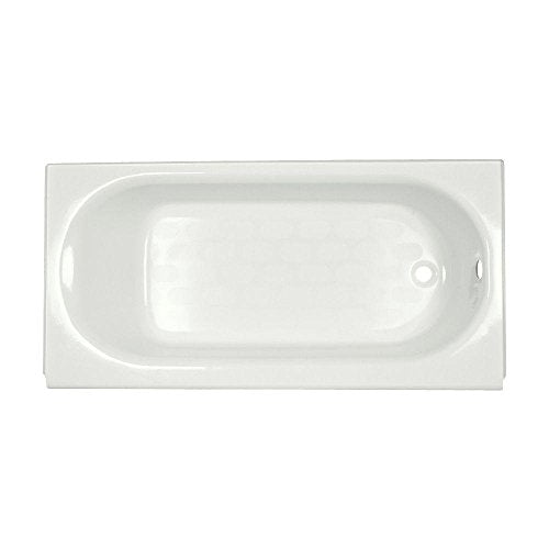 American Standard 2395.202.020 Princeton Recess 5-Feet by 34-Inch Right-Hand Drain Americast Bath Tub with Luxury Ledge, White