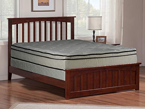 Mayton 11-Inch Twin Size Mattress and Semi Flex Box Spring - Firm Foam Encased Euro Top Velour Plush Fabric Provides Warmth and Comfort, No Assembly Required 38x74