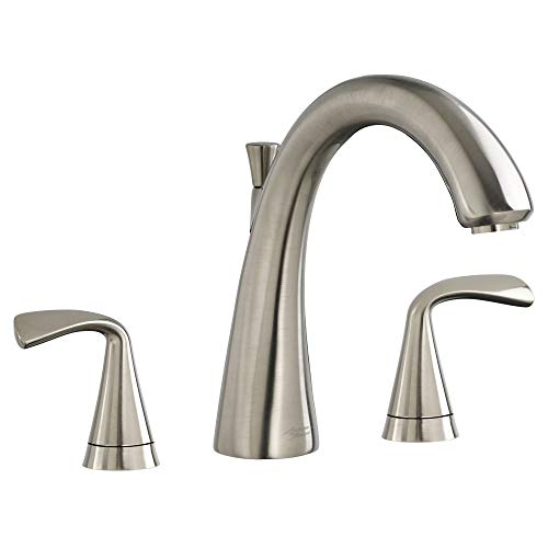 American Standard T186900.295 Fluent Roman Tub Faucet for Flash Rough Valves, Brushed Nickel