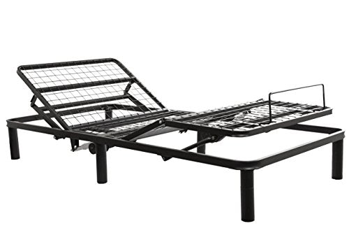 Primo International 30496 Charger Adjustable Bed Frame, Twin XL, Black