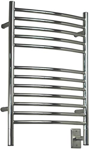 Amba ECP-20 20-1/2-Inch x 31-Inch Curved Towel Warmer, Polished