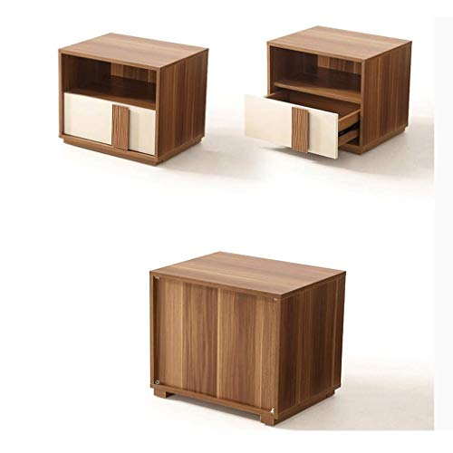 LRZS Modern Minimalist Bedside Table Mini Storage Locker Bedside Table Bedside Cabinet Environmentally Friendly Assembly Furniture