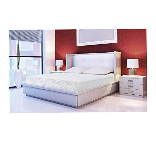 Wood & Style 8 in Solar Memory Foam Mattress Queen Comfy Living Home Décor Furniture Heavy Duty