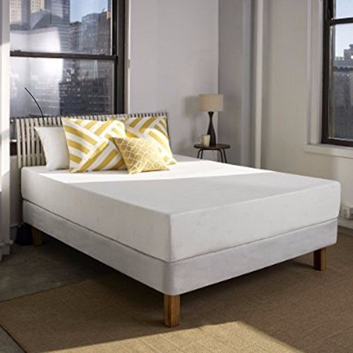 10 Inch Flipable Double Sided Memory Foam & High Density Foam Mattress Size Cal King