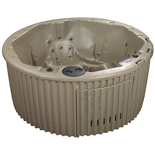 Essential Hot Tubs 20-Jet Arbor Hot Tub, Seats 5-7, Cobblestone