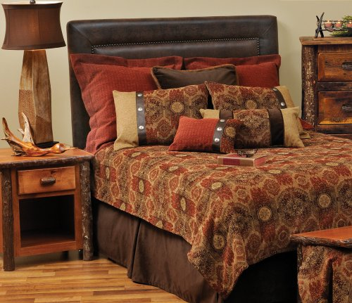 Wooded River WDK1351 106 by 92-Inch King Coverlet