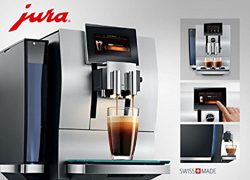 Jura Z8 Aluminum Touch Screen Automatic Coffee Center