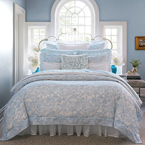 Florissa by Sferra - King Duvet Cover 106x92 (Azure)
