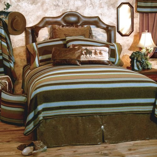 Wooded River WDCK1407 104 by 100-Inch California King Bedspread