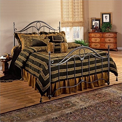 BOWERY HILL Full Metal Spindle Bed in Bronze