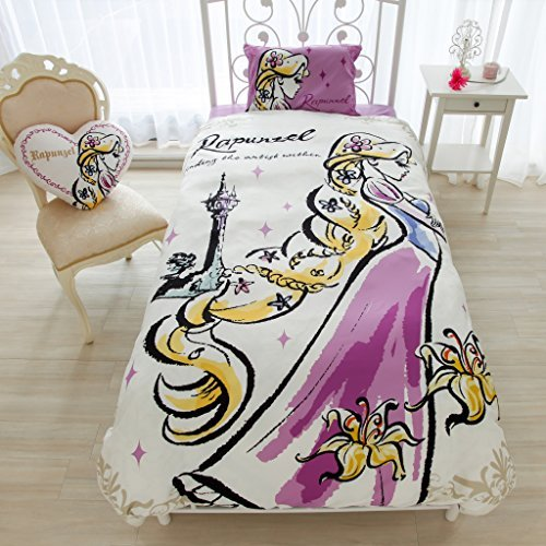 Disney Rapunzel 3 Pieces Duvet Cover Set [Sb-60]