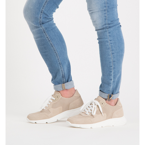Frits BEIGE SUEDE