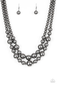 Paparazzi Necklace - I Double Dare You - Black