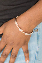 Load image into Gallery viewer, Paparazzi Bracelet - Traditional Twist - Rose Gold