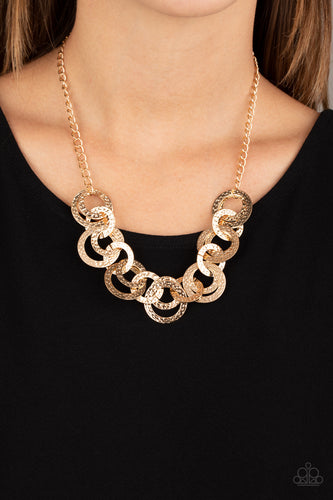 Paparazzi Necklace - Treasure Tease - Gold