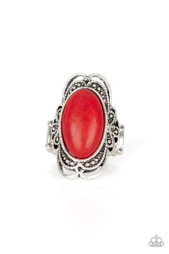 Paparazzi Ring - Desert Flavor - Red