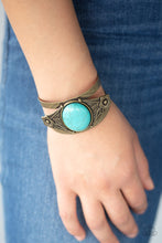 Load image into Gallery viewer, Paparazzi Bracelet - Desert Nature - Brass