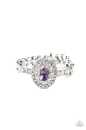 I Said Yes - Purple - New Release - Paparazzi Ring