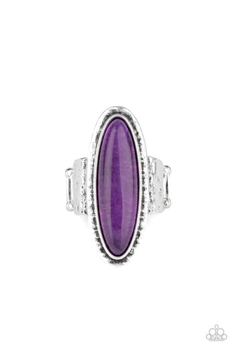 Paparazzi Ring - Stone Mystic - Purple