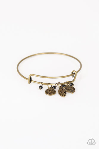 Paparazzi Bracelet  - The Elephant In The Room - Brass