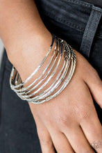 Load image into Gallery viewer, Paparazzi  Bracelet - Urban Sprawl - Silver