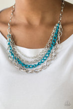 Load image into Gallery viewer, Paparazzi Necklace  - Color Bomb - Blue