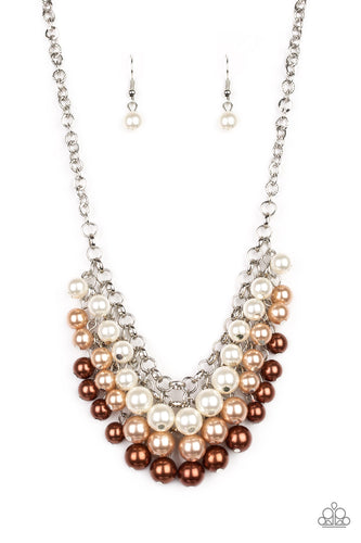 Paparazzi Necklace - Run For The HEELS! - Brown