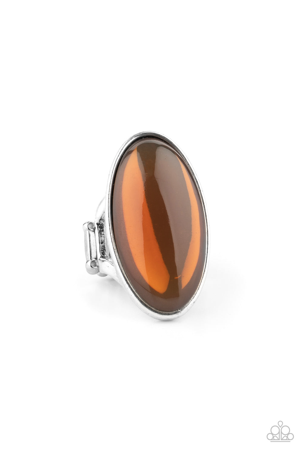 Mystic Moon - Brown - Paparazzi Ring - New Release