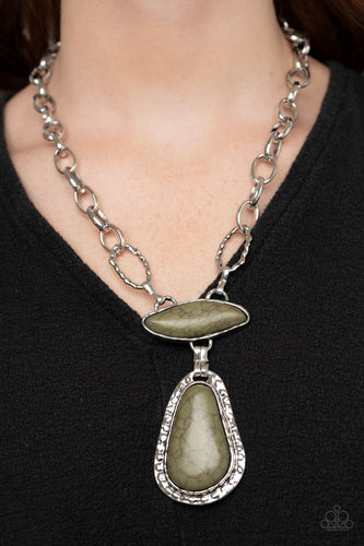 Paparazzi Necklace - Rural Rapture - Green - New Release