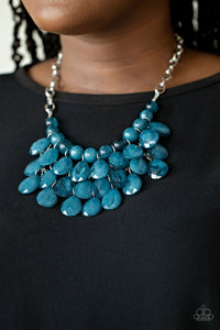 Paparazzi Necklace - Sorry To Burst Your Bubble - Purple