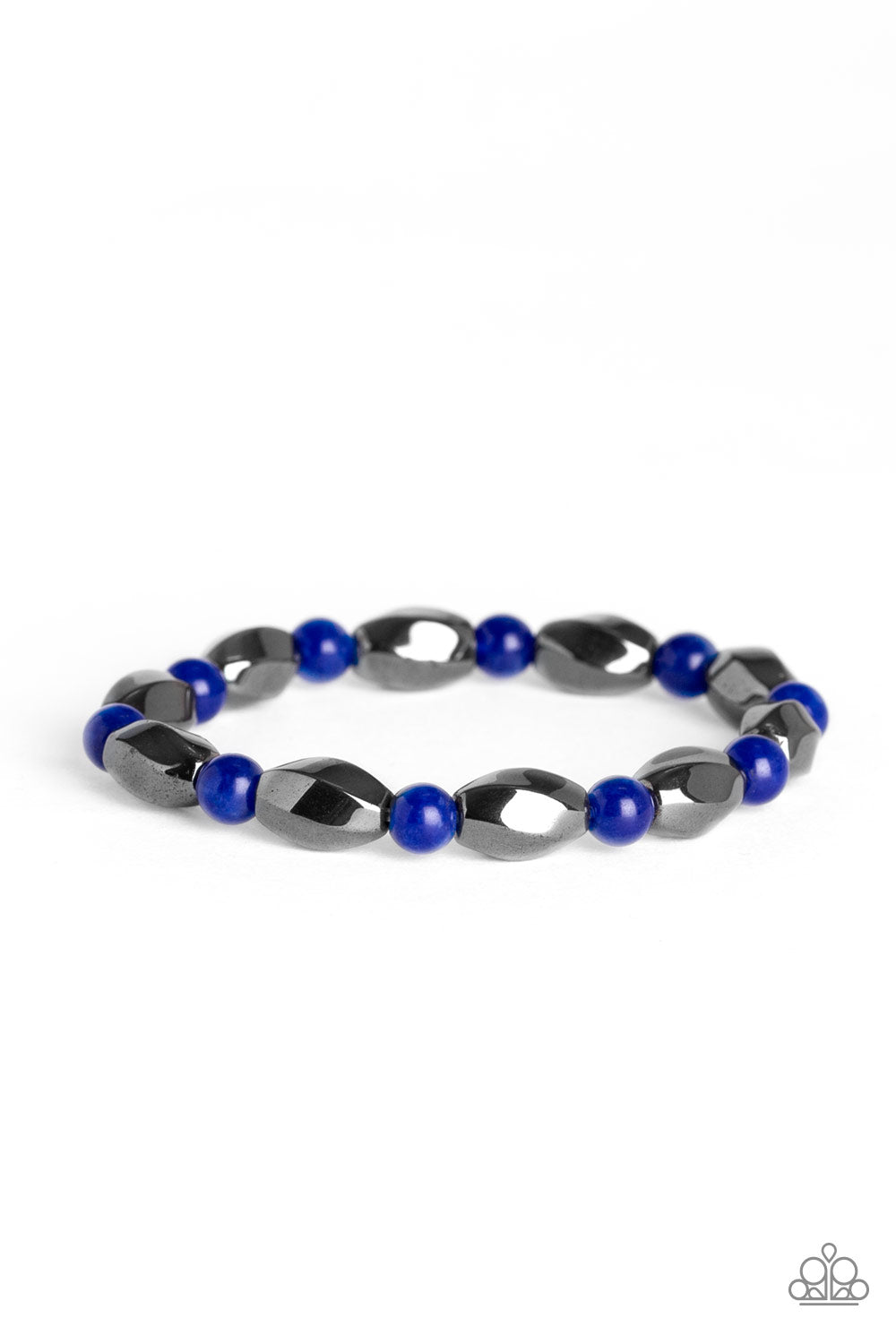 Paparazzi Bracelet - To Each Their Own - Blue - New Release
