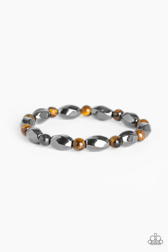 Paparazzi Urban Bracelet - To Each Their Own - Brown