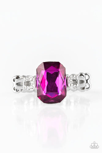 Paparazzi Ring - Feast Your Eyes - Pink