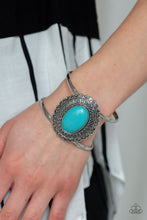 Load image into Gallery viewer, Paparazzi Bracelet  - Extra EMPRESS-ive - Blue