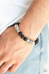 Paparazzi Bracelet - Mantra - Brown Urban