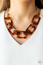 Load image into Gallery viewer, Paparazzi Necklace - Sizzle Sizzle - Brown