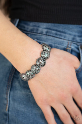 Paparazzi Bracelet - Obviously Ornate - Silver
