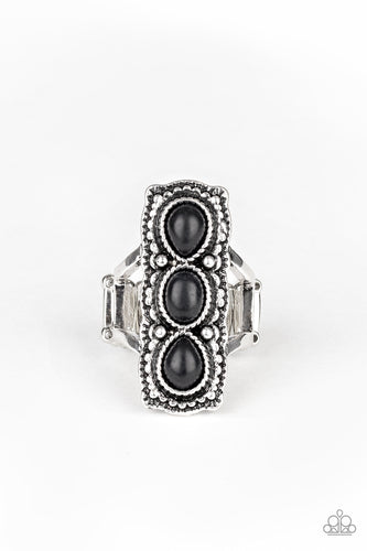 Paparazzi Ring - Desert Destiny - Black Ring