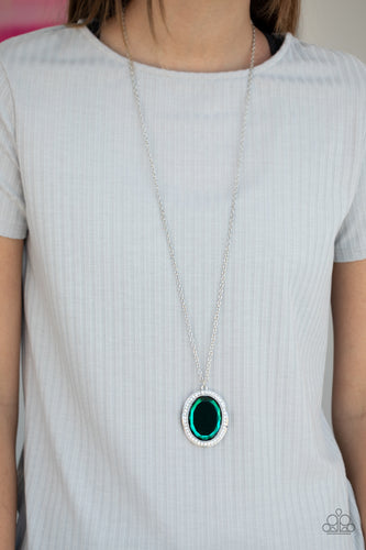 Paparazzi Necklace - REIGN Them In - Green