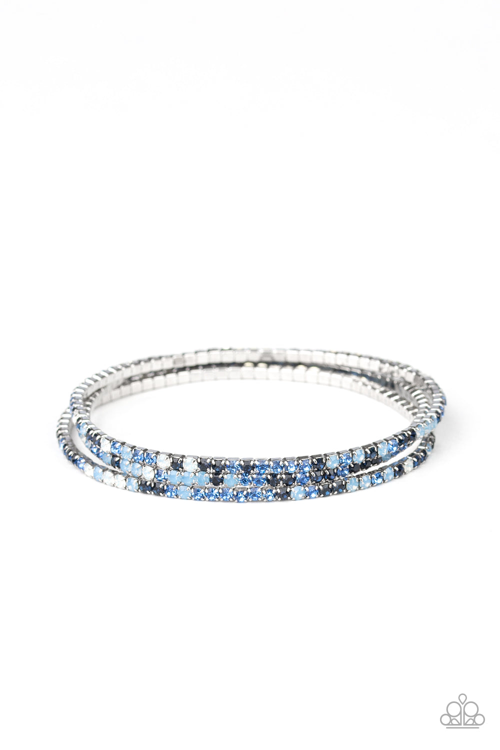 Paparazzi Bracelet - Sugar and ICE - Blue
