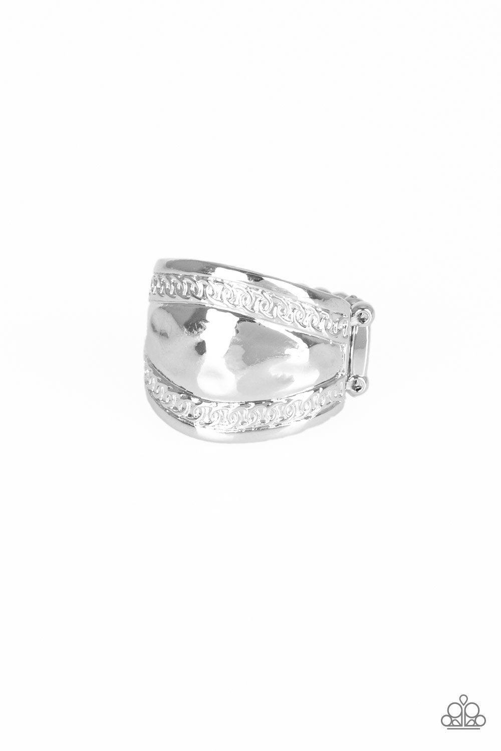 Paparazzi Ring - Sunset Groove - Silver
