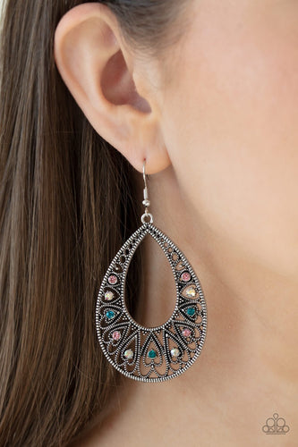 Paparazzi Earring  -Love to be Loved - Multi